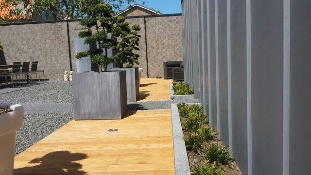 aanleg terras