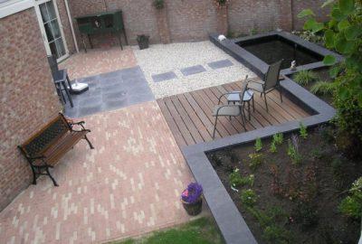 Tuin aanleg Westkapelle